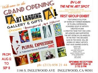 art landing opening